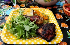 Rocket salad with Chimichurri Chicken