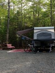 Tilly set up in site #253