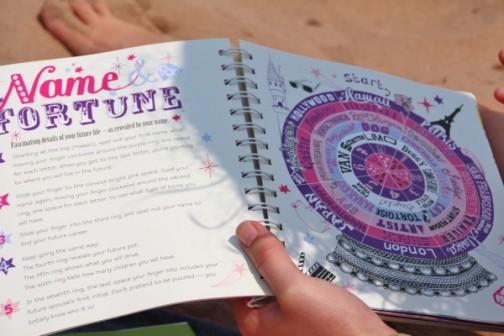 Beach fortune telling