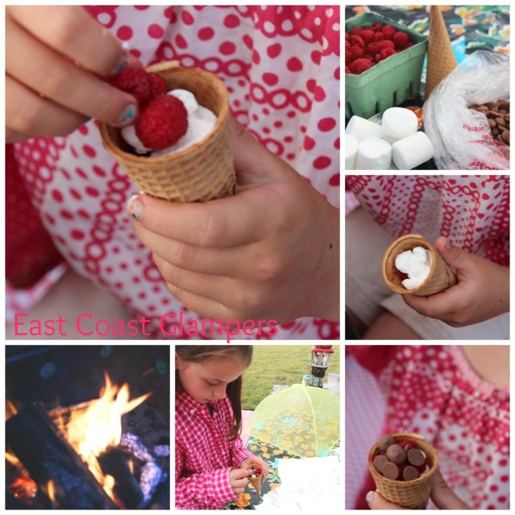 Berrylicious campfire cones