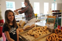 Ingrid's pretzels are authentic German baking at it's best. The girls love the sweet, but they also come savoury.