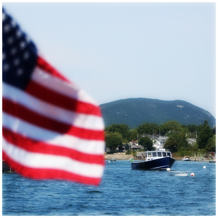 Ferry out of Southwest Harbor to Great Cranberry Island, ME.