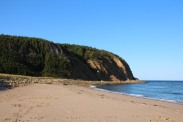 September brings quiet stretches of sand at McLeods Campground