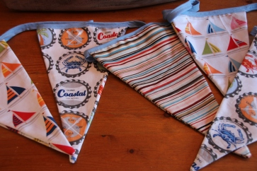 'Go Coastal' Bunting by East Coast Glamping