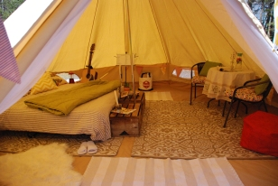 Happy Glamping from East Coast Glamping!