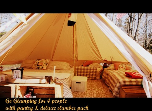 East Coast Glamping for 4.