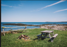 Ocean glamping, nature walks, swimming pool all at The Ovens Natural Park.