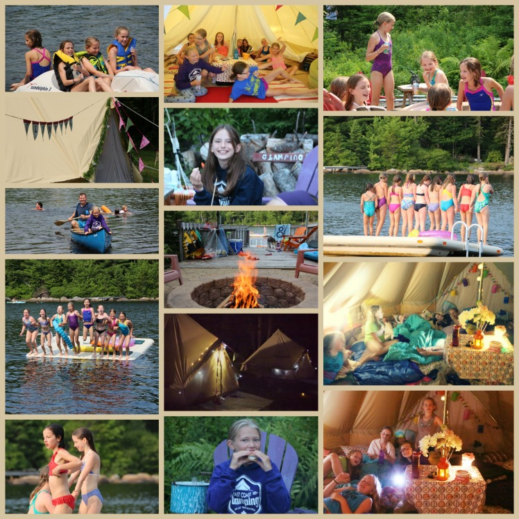 GlampingPartyCollage
